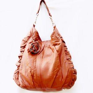 Junior Drake Ottavia Lambskin XL Hobo Bag- New